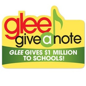 Glee's Give A Note Campaign_1123319182211500572