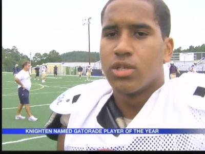 Knighten named Gatorade Arkansas Football Player of the Yea_-8538374458558362525
