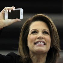 Michele Bachmann Campaigns At _Rock The Caucus_ Assembly On Caucus Day_7065027263556961821