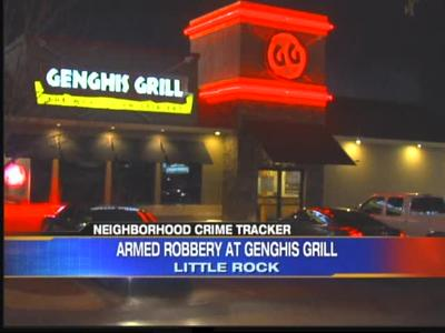Little Rock Genghis Grill robbery_-896368825698270613