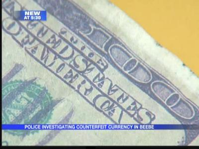 Beebe police battling counterfeit currency cases_-8799302921958833333