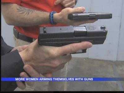 Women turn to gun classes after rise in violence_-7915946012570267908