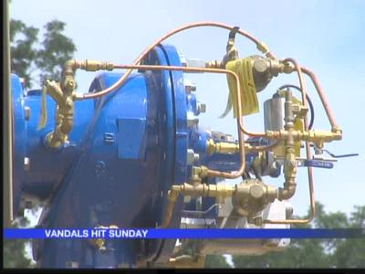Vandals damage Maumelle water well_-7262215425768143027