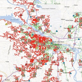 Entergy Outage Map_7963099078444926139