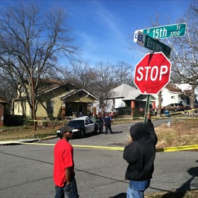 Officer involved shooting in the 1400 block of Brown Street_6915495686561940322