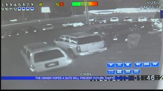 SUVs stolen from Benton dealership_1085290095427603861