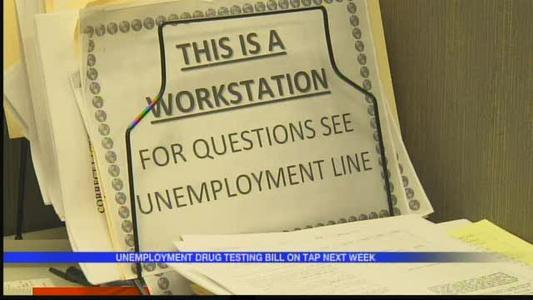 Unemployment drug testing bill could face opposition_6066341011136072249
