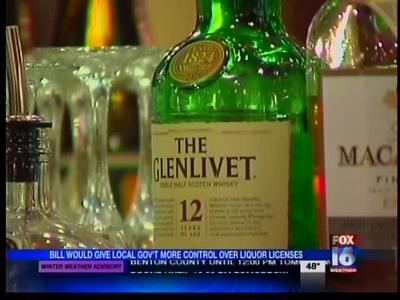 Bill Would Give Governments Control Over Liquor Licenses_7531855501794820639