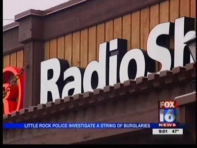 Little Rock Police Investigate String of Burglaries_-4581294471138688926