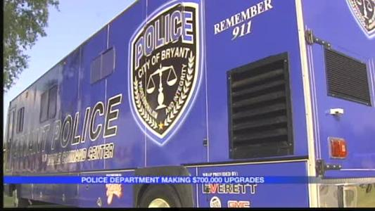 Bryant Police Department Gets Big Time Upgrades_-424888611297474117