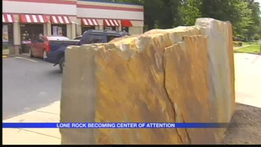 Lone Rock Becoming Center of Attention in Arkadelphia_-2505007338067113054