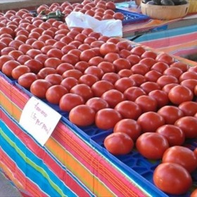 Tomatoes at the Farmers' Market_324764691866992745