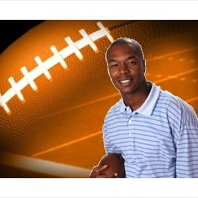 Anthony Lucas with football background_7202128049119772791