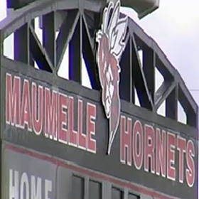 Maumelle Hornets Scoreboard_4866617509669390618
