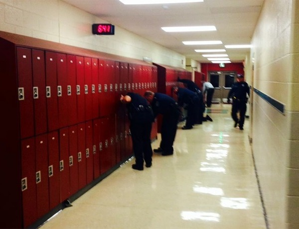 Russellville Middle School Security Sweep_3457400576768822719