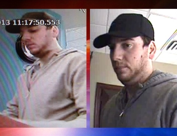 Photos from both LR Bank robberies Nov. 20. 2013_2318710047066440021