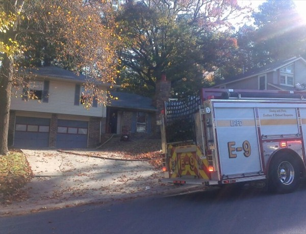 Little Rock House Fire on Parkway Place Drive_-2827546119190197471