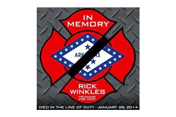 Trumann Fire Chief Rick Winkles In Memory of Pic_-7965975664147020412