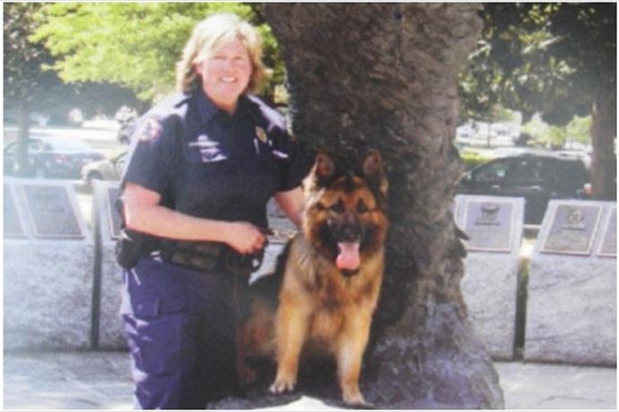 LRPD K-9 Officer Annette Harrington and partner K-9 Officer _Chewy__-6846340022009969512