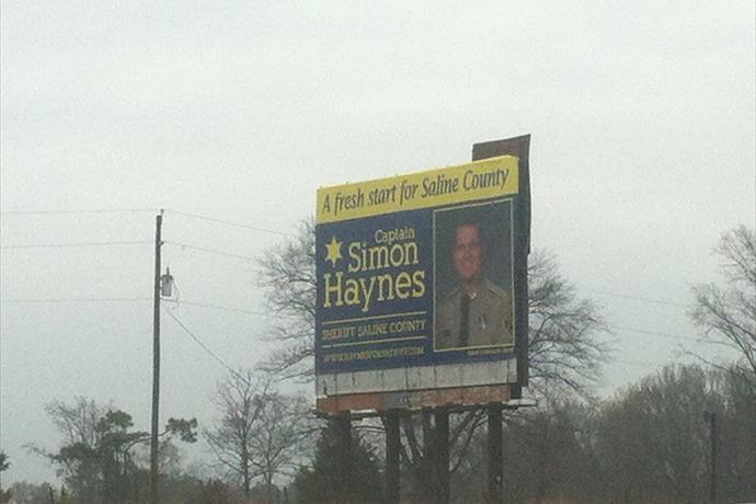 Simon Haynes Sheriff Candidate Billboard_-6440541414672874696