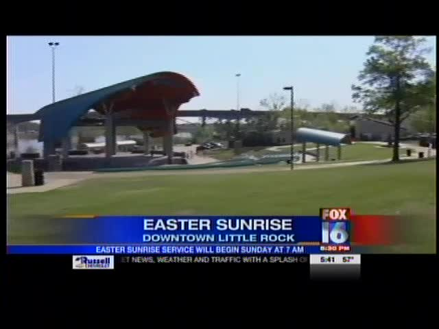 Easter Sunrise Service in Little Rock_-8795633900684099103