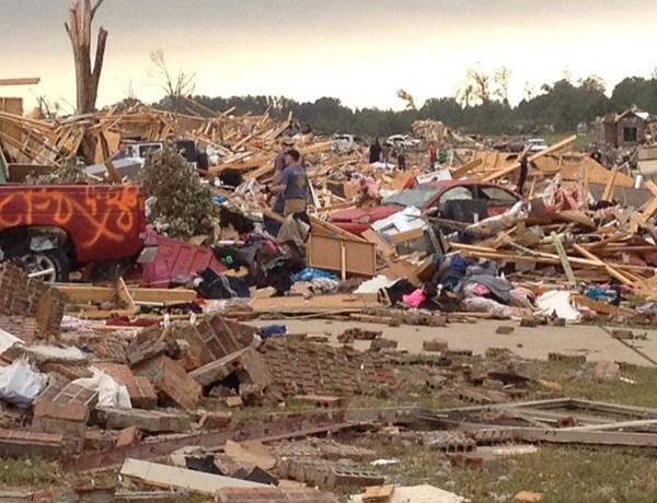 Vilonia Tornado Destruction _-7912012184114346422