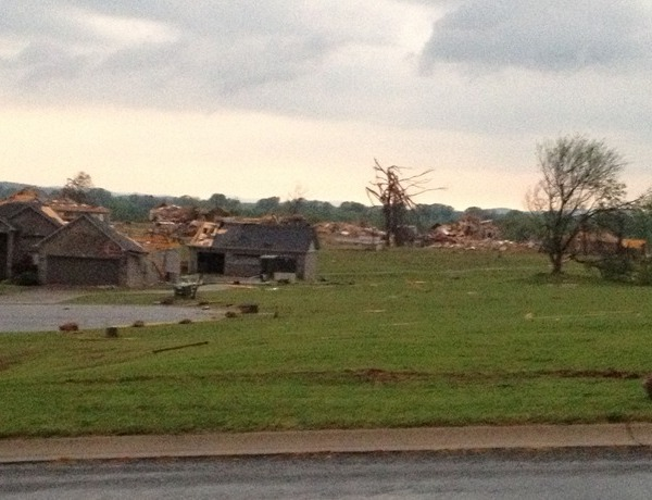 Tornado Damage in Mayflower_-4689870217071410335