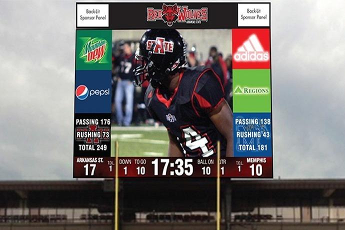 ASU new scoreboard, video display_4596655340903417323