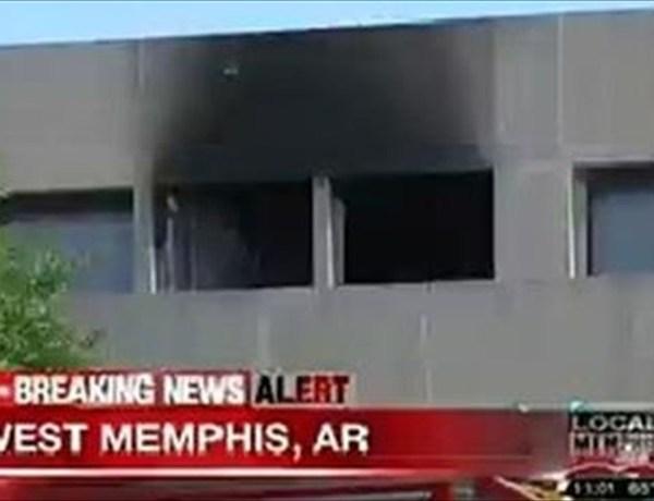 Crittenden Regional Hospital fire in West Memphis June 6_7815820578386757716