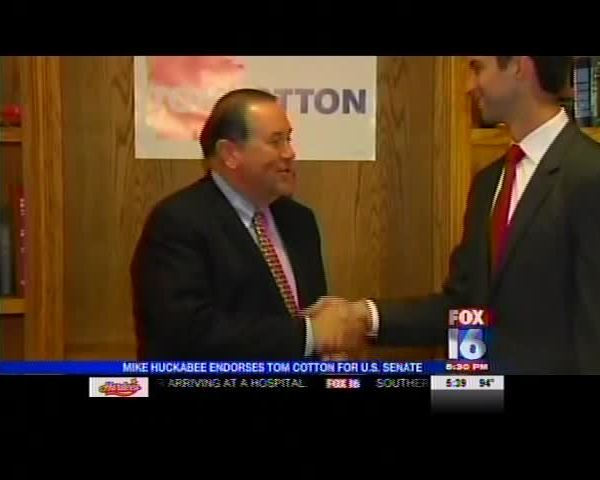Huckabee Endorses Cotton_-8893981529485062912