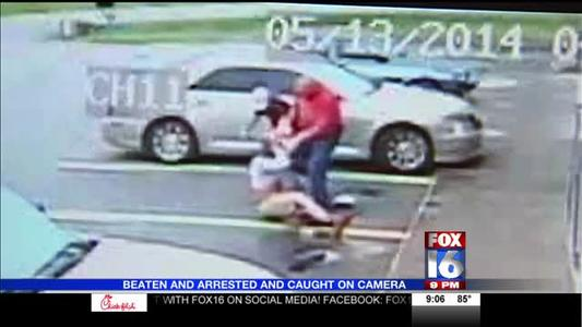 Beaten and Arrested Caught on Camera_-1369897505287092335