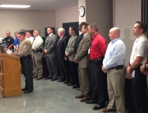 Pulaski County Sheriff's Office News Conference on Realtor Murder Case_-44792440846466240