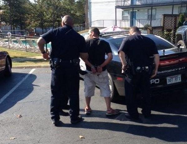 Arrest of Arron M. Lewis in Little Rock on Sept. 29._6066911065567281201