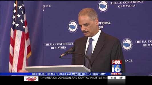 Eric Holder in Little Rock_-7175193311253216954