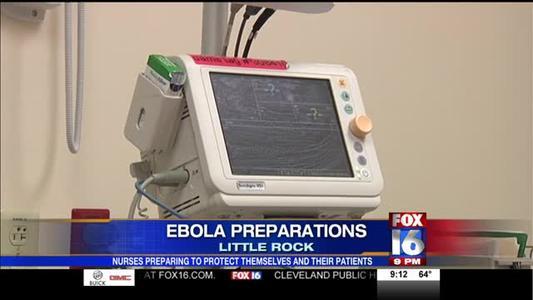 Nurses Learning about Ebola Safety_-5501524167074756074