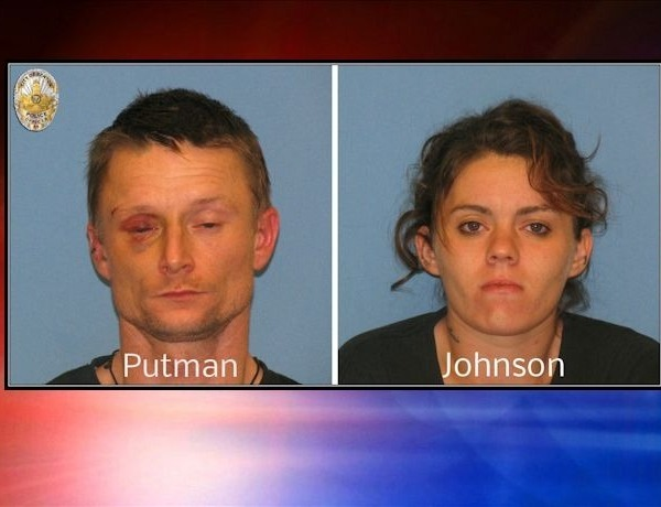 Putnam and Johnson mugs Benton arrest_95126810498583809