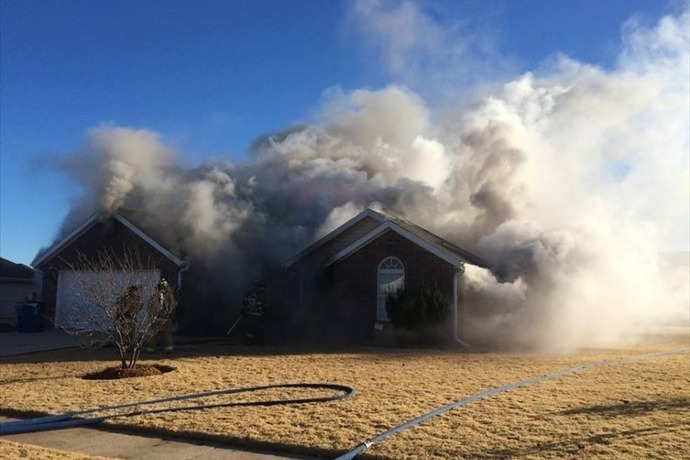 Fire at home on Washburn Dr. in Pea Ridge on Nov. 24._-5253476340392964686