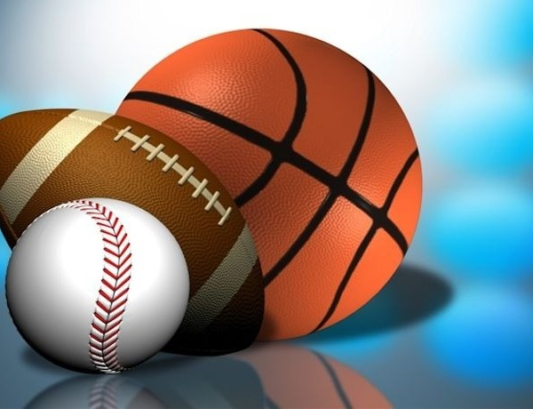 Sports with basketball, football and baseball_-318653497259703740