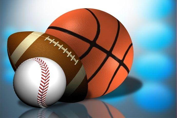 Sports with basketball, football and baseball_-318653497259703740