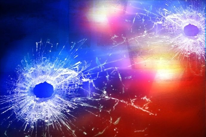 Shooting with bullet holes and police lights generic_-2089797669875332503