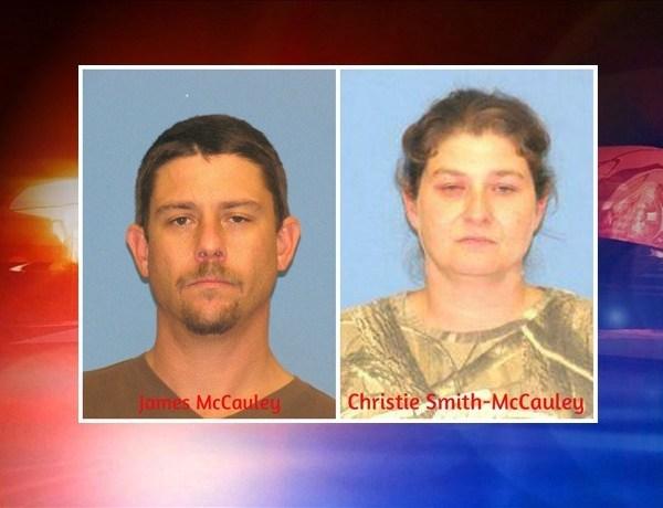 James McCauley, 38, and Christie Smith-McCauley, 34, both of Benton._3626506183378815992