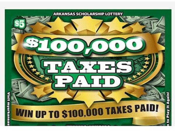 $100,000 Taxes Paid scratchoff ticket_3835166013555687561