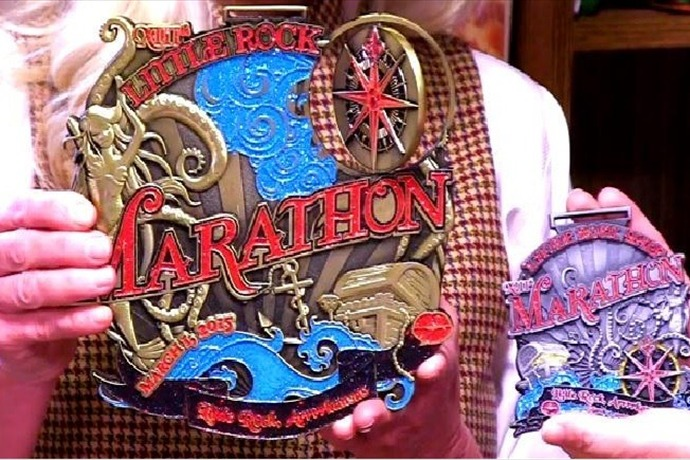 Little Rock Marathon 2015 medal_-4128088761224312924