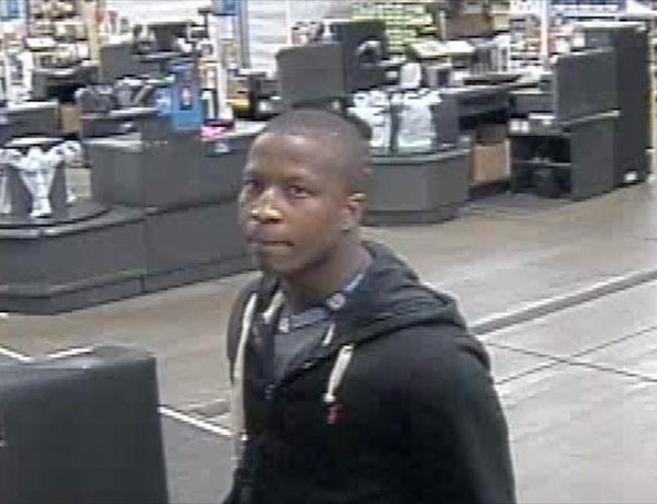 Man wanted for questioning after cell phones stolen from Russellville Walmart store._8054249736352844602