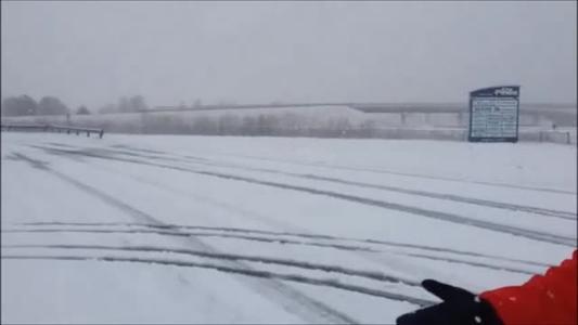 Snow in Pine Bluff, Josh Berry Report_8373472025597660662