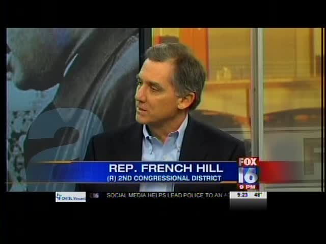 French Hill Discusses Selma_-2099672085715596848