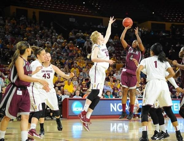 UALR women's basketball in NCAA tournament 2015_4417126977652148437