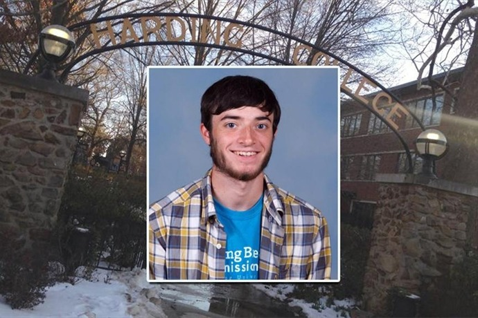 Nicholas Smith, 21, died in a car accident March 7, 2015 while on his way to New York for a student organized mission._5136457756870264547