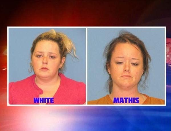 Bobbie White, 32, of Benton and Taylor Mathis,33, of Malvern.  _4738414059721214775