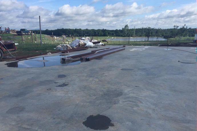 Ola chicken farm storm damage_-6657633938219122626